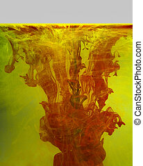 colorful contamination
