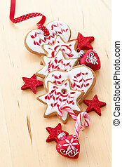Colorful cookies for christmas - Colorful cookies and...