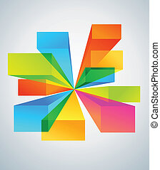 Colorful copyspace backgrounds