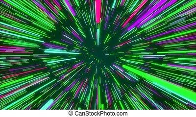 """Colorful creative cosmic green backdrop"""
