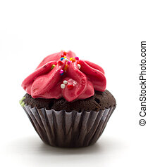 Colorful Cup Cake - colorful cup cake, cream muffin