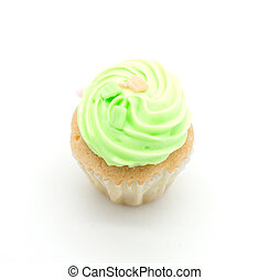 colorful cup cake, cream muffin