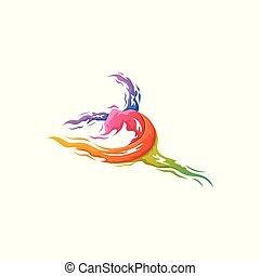 Colorful Dance Logo Template