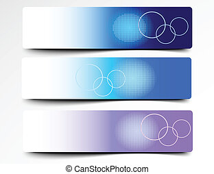 Colorful Decorative Abstract Banner