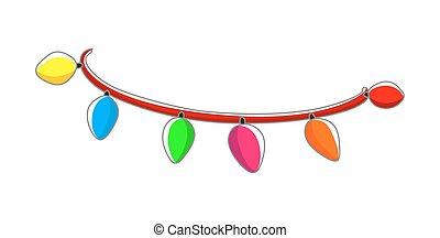 Colorful Decorative Lights