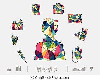 colorful dental