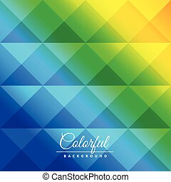colorful diamond shapes pattern
