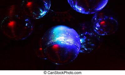 Colorful Disco Balls