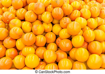 Pink Grapefruit - Colorful Display Of Pink Grapefruit In A...
