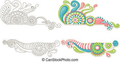 Colorful doodle