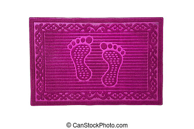 Colorful doormat for house and office.