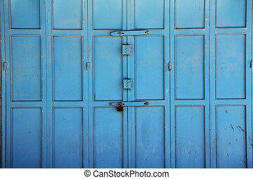 Colorful Doors in the Christian Qua