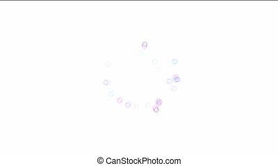 dot background - colorful dot background