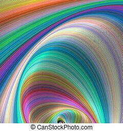 Colorful dream - abstract computer generated art
