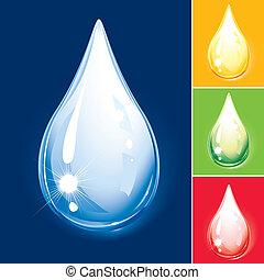 Colorful Drop Set