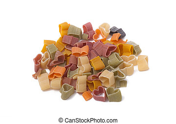 Colorful Dry Pasta