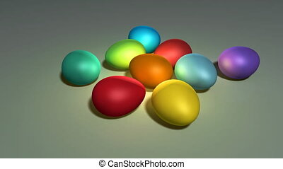 easter egg - colorful easter eggs background This is the...