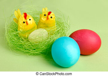 Colorful Easter Still Life