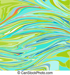 Colorful ebru background