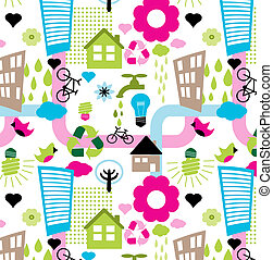 colorful eco pattern