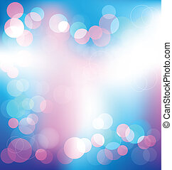 Colorful elegant abstract background with bokeh lights