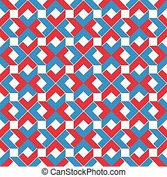 Colorful ethnic geometric art