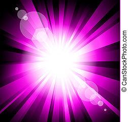 Colorful Explosion Purple Version