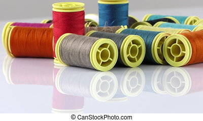 Colorful Fabric Textile Material Rolls