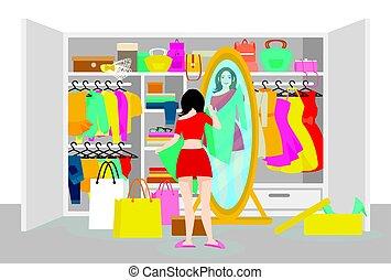 Colorful Fashion Concept
