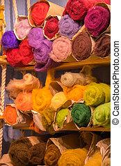 Fibre Wool Yarn Roving for Needle Felting Hand Spinning DIY Craft Materials