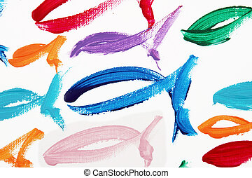 fishes - Colorful fishes