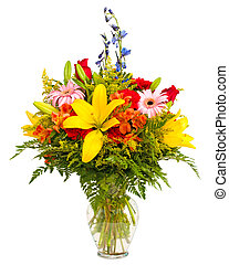 Colorful flower arrangement