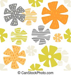 colorful flower pattern background