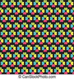 colorful flower pattern design