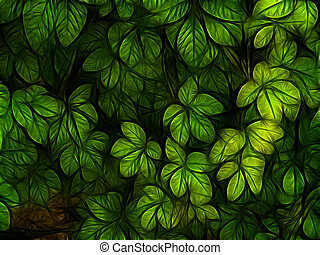 abstract ,background ,foliage, forest , green, leaf ,leaves ,