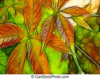 colorful foliage