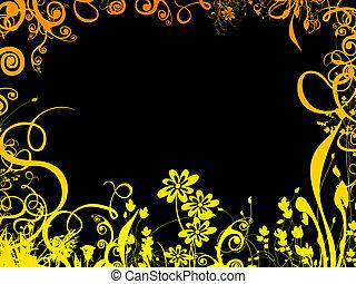 colorful foliage, határ