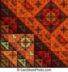 Colorful Fractal Background