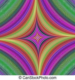 Colorful fractal background design vector - digital art -...