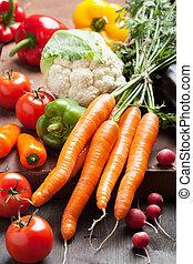 colorful fresh vegetables