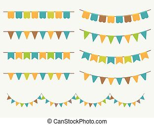 Colorful Garlands