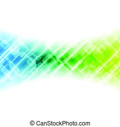 Colorful geometric abstract tech background