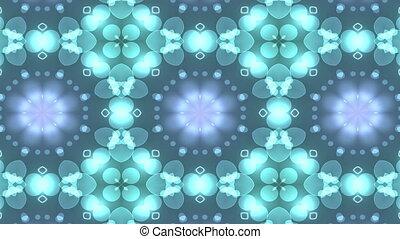 colorful Geometric Kaleidoscope Background