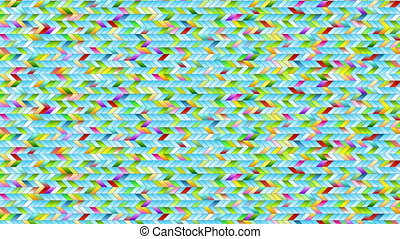 Colorful geometric mosaic abstract animated background