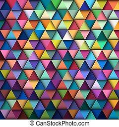 Colorful Geometric Pattern, vector eps10 illustration