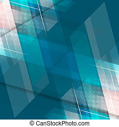Colorful geometric pattern on abstract vector background.