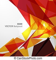 Colorful geometric transparency. - Trendy colorful...