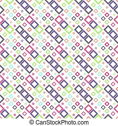 Colorful geometrical abstract diagonal square pattern background