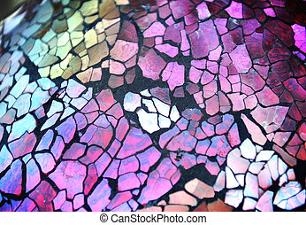 Colorful Glass Texture Background