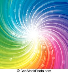 Colorful Glittering Background